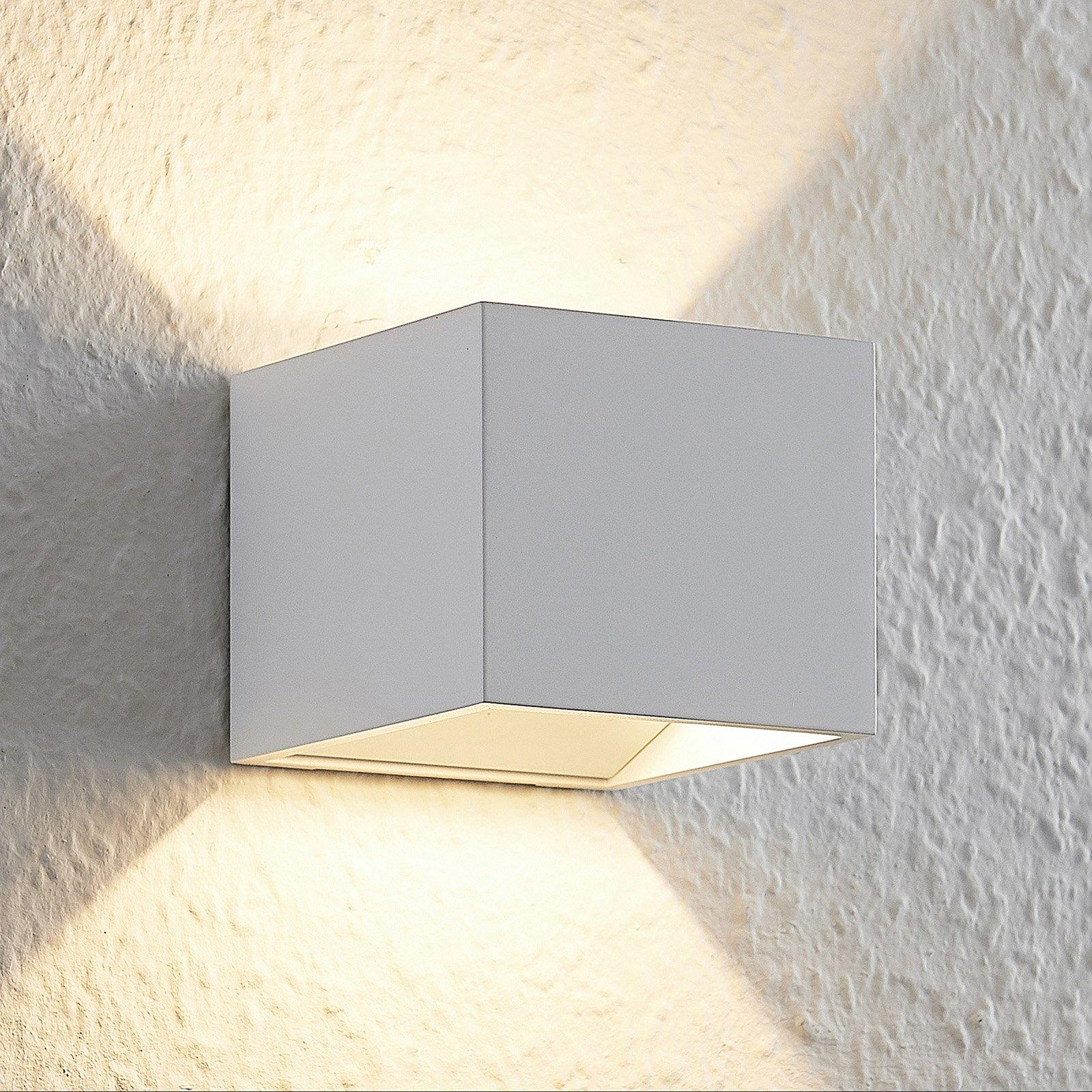 Arcchio Antonin alu-LED-vegglampe, hvit