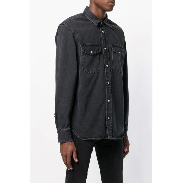 Diesel Men's Shirt Black 287443 - black L