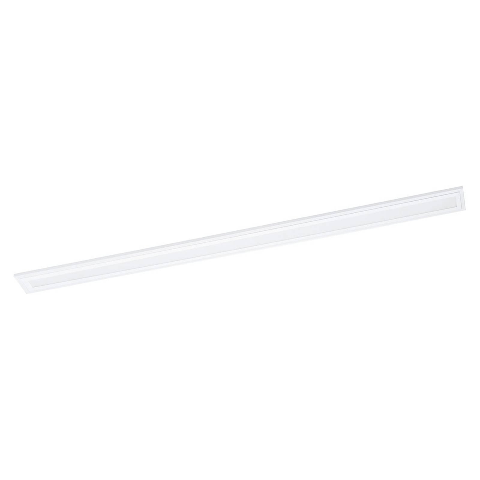 LED-taklampe Salobrena 2, aluminium hvit