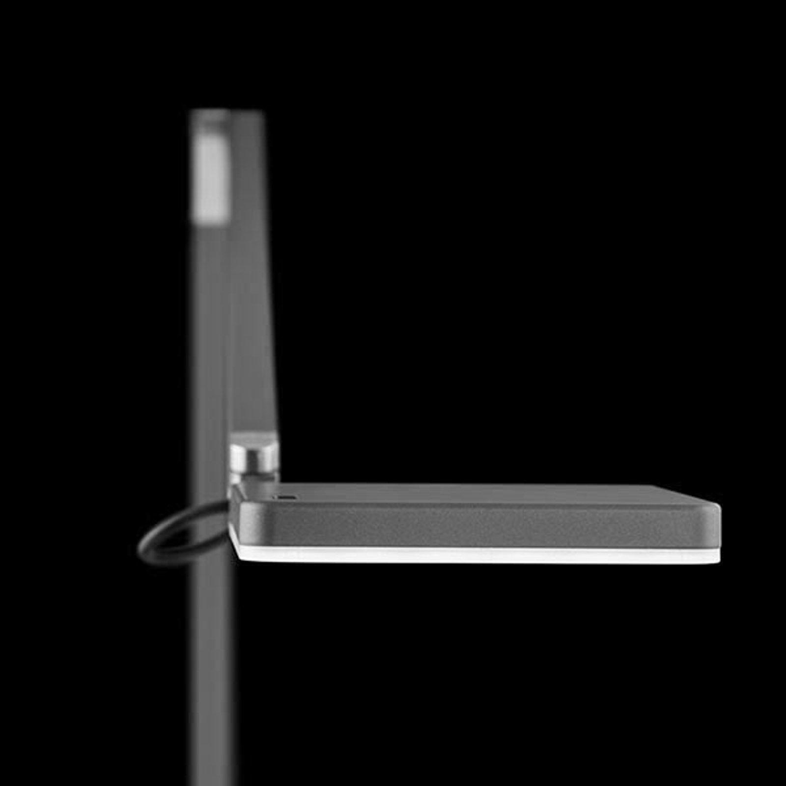 Nimbus Roxxane Home New LED-leselampe 927 sølv