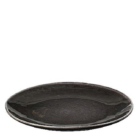 Stor middagstallerken, Nordic Coal Ø 31 cm