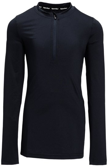 Hyperfied Running Tape Logo Sweater, Anthracite 134-140