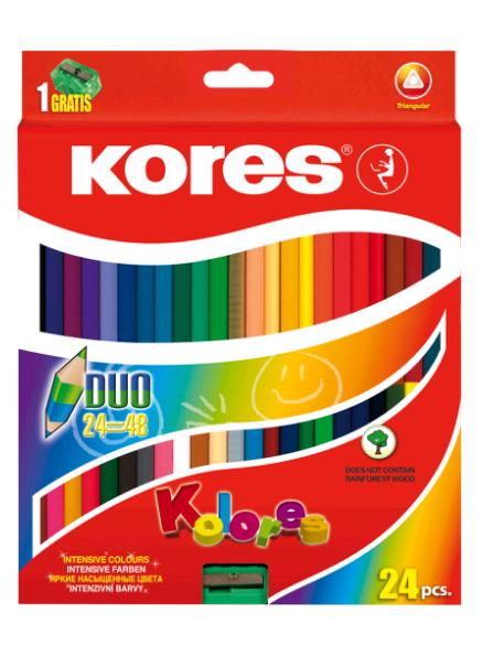 Kores - Kolores - Duo Coloured Pencils (93224)