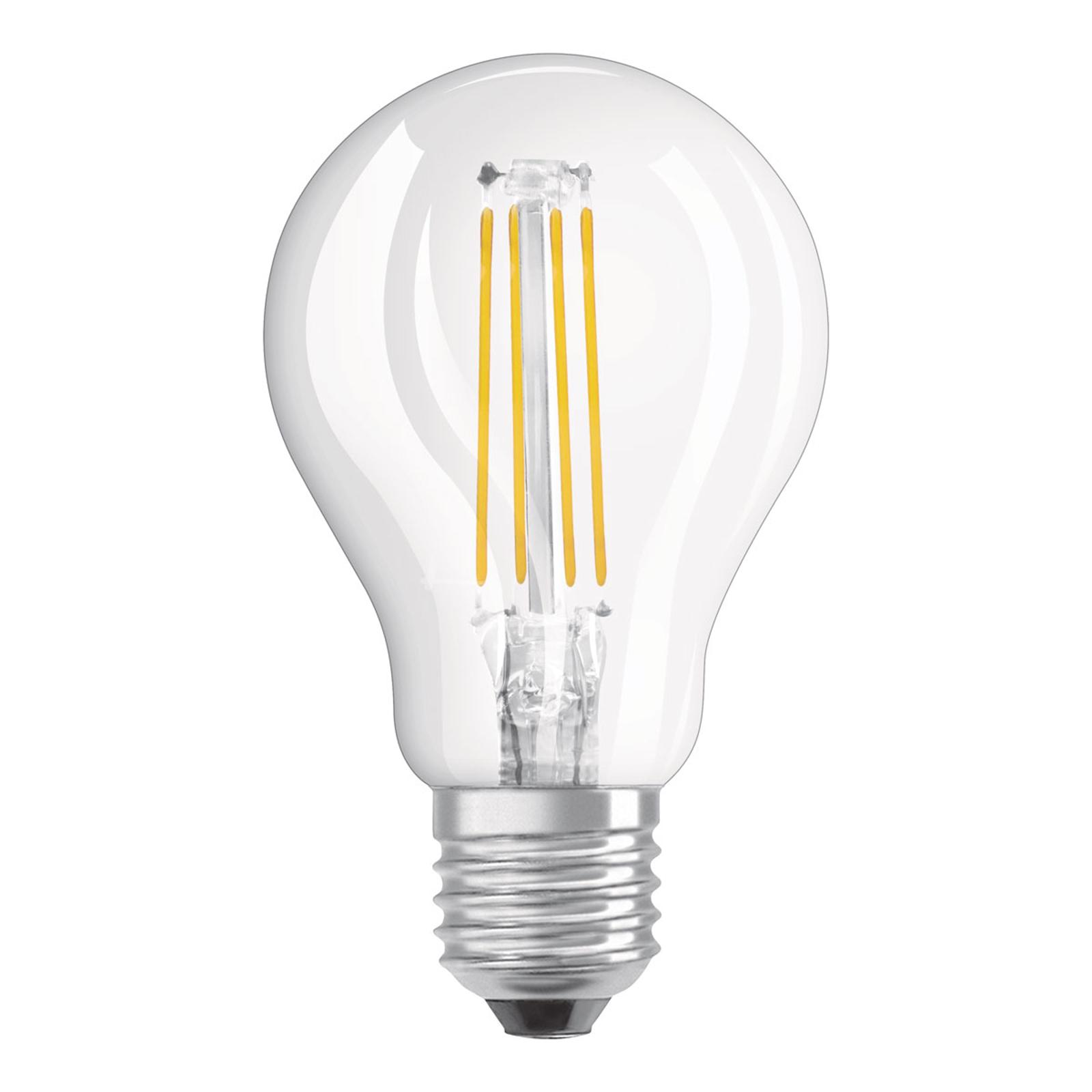 OSRAM-LED-lamppu E27 4W Classic P 4 000 K kirkas
