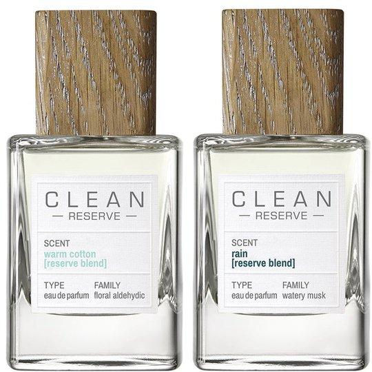Warm Cotton & Rain Reserve Blend, Clean EdP