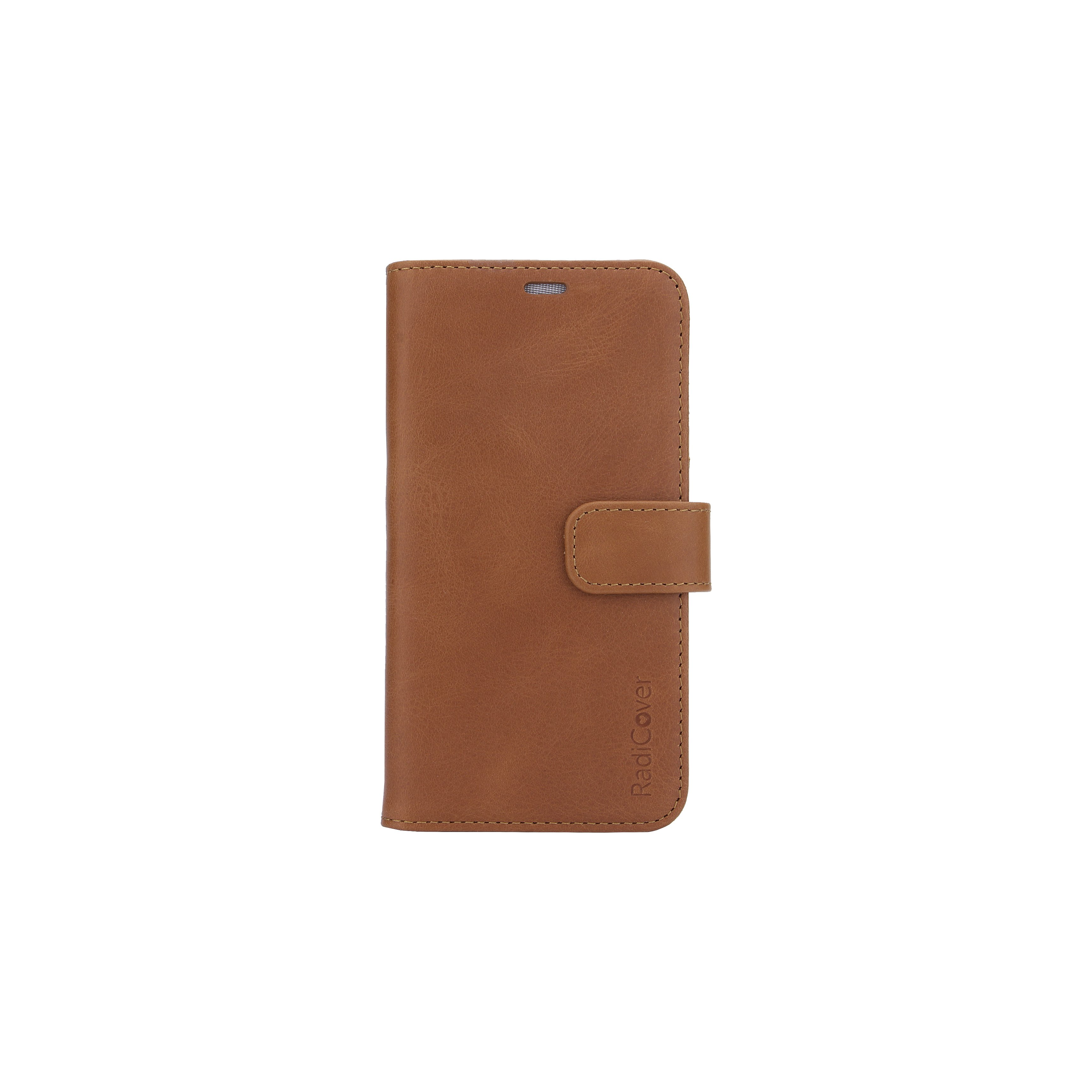 RadiCover - Radiationprotected Mobilewallet Leather iPhone 11 Pro 2in1 Magnetskal - Brown