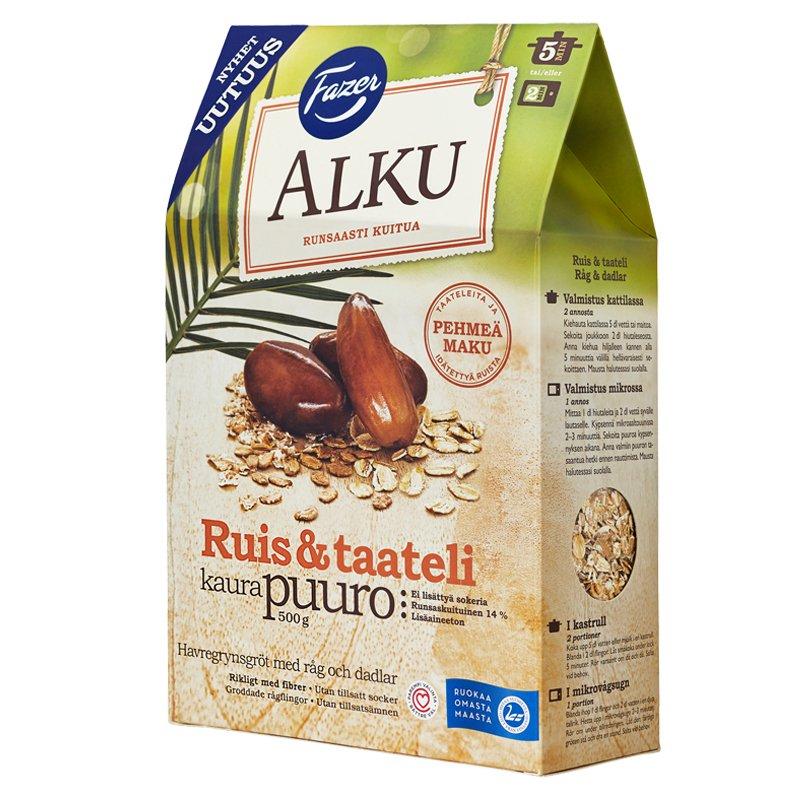 Ruis Taateli Kaurapuuro - 26% alennus