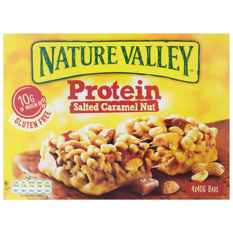 Proteinbars Salted Caramel Nut 4-pack - 59% rabatt