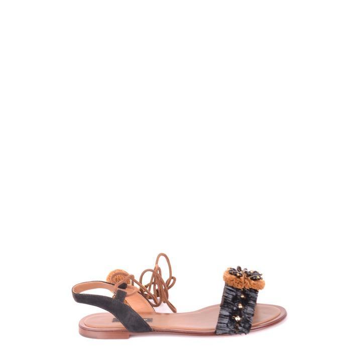 Dolce & Gabbana Women's Sandals Multicolor 164339 - multicolor 36