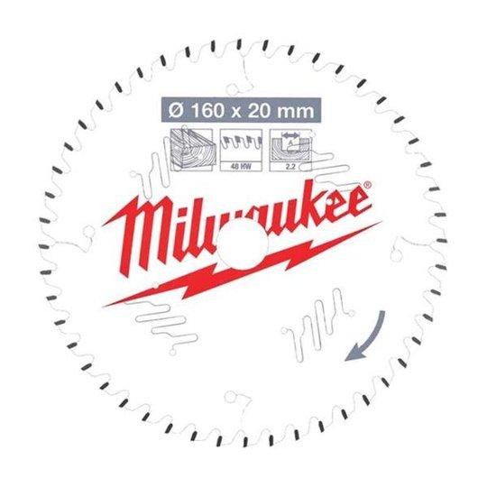 Milwaukee CSB P W Sahanterä 160x2,2x20 mm, 48T