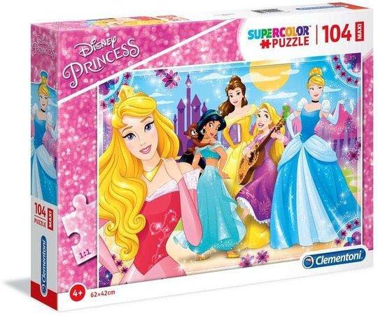 Disney Princess Puslespill Maxi 104 Brikker