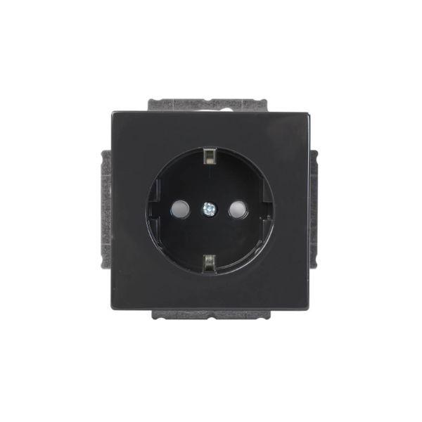 ABB 20 EUC-81 Vegguttaksinnsats 1-veis Antrasitt