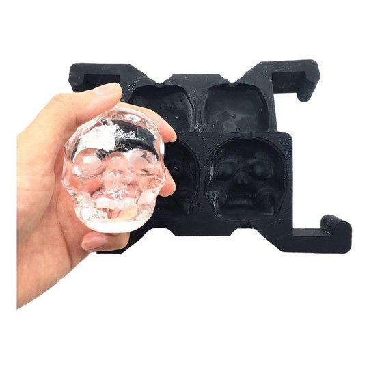 Form för Kristallklar Is - Döskalle