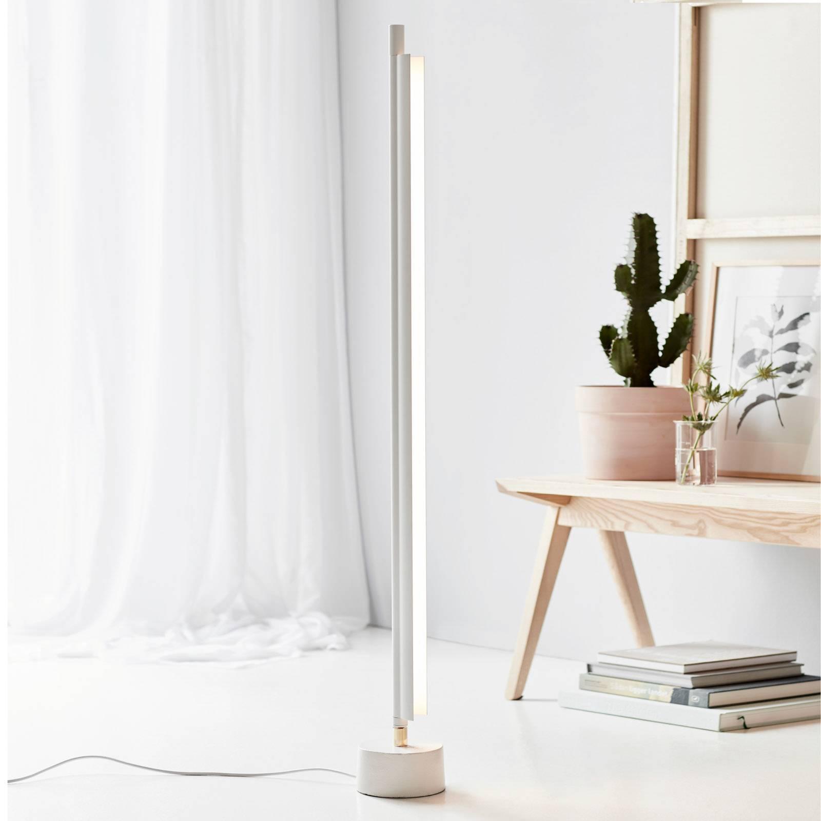 Space B -LED-lattiavalaisin valkoinen