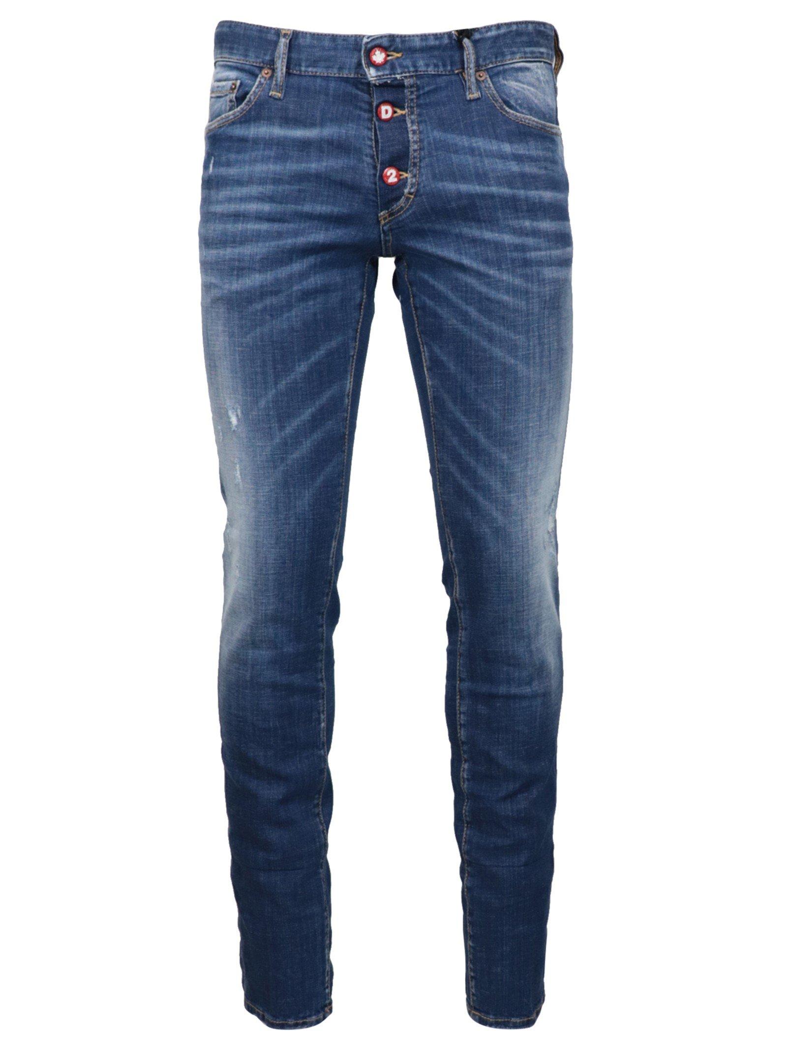 Dsquared² Men's Jeans Blue DS1432845 - IT50   L