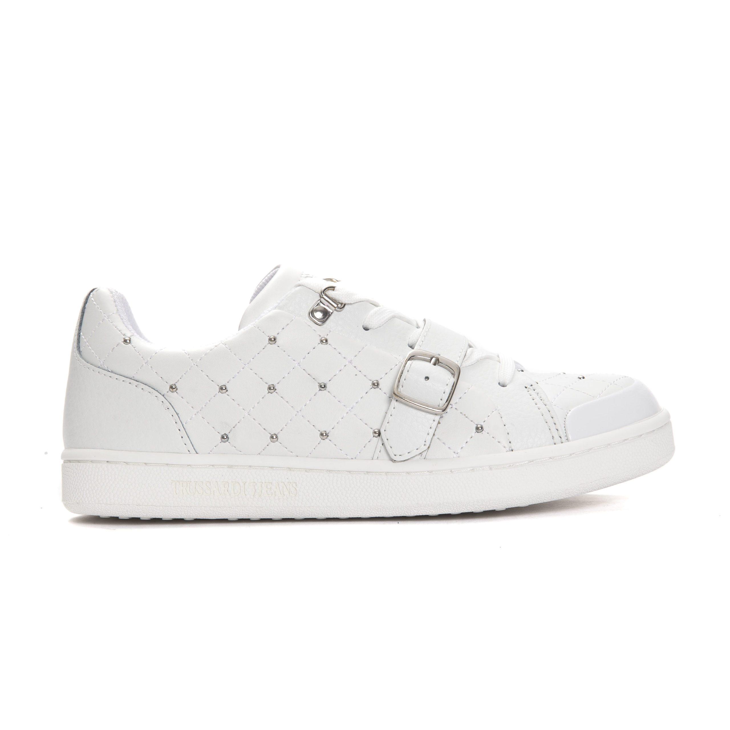 Trussardi Jeans Women's Trainers White TR662891 - EU37/US6.5