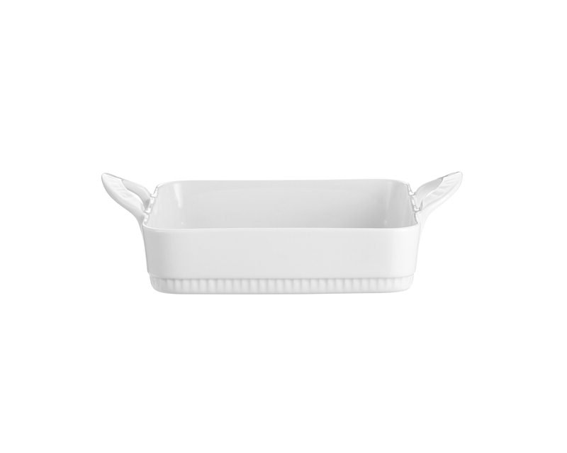 Pillivuyt - Toulouse Square Dish 17,5 cm - White (221717)