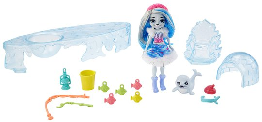 Barbie Fishing Friends Med Sashay Seal & Blubber Dukker