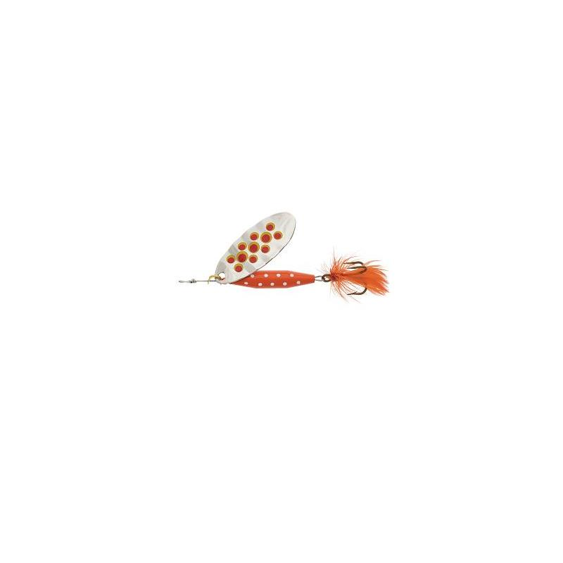 Abu Reflex Red 7g S/Red dots Kjøp 8 spinnere få en gratis slukboks