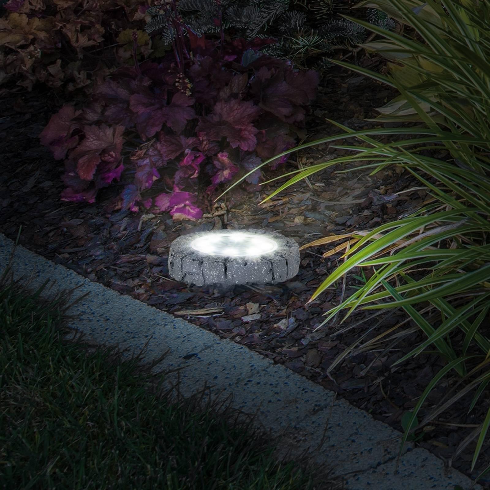 Aurinkokäyttöinen LED-maapiikkikvalo 4125804 4 kpl
