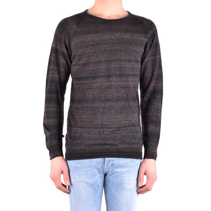 Daniele Alessandrini Men's Sweater Brown 162953 - brown 48