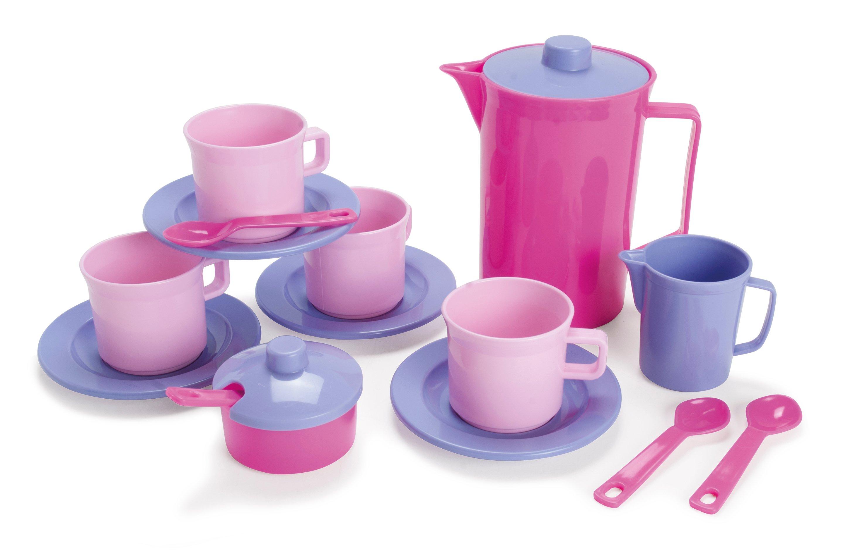 Dantoy - Coffee set, Pink (4396)