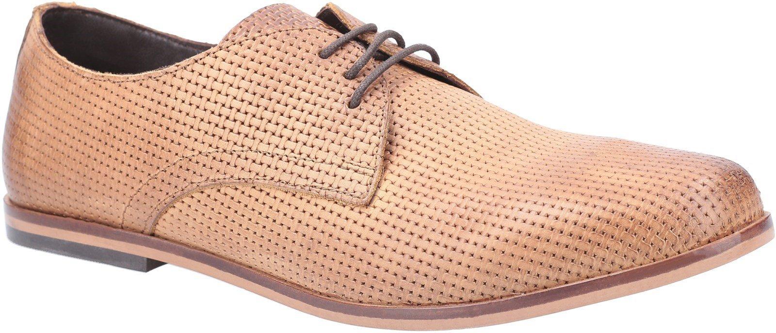 Base London Men's Senna Embos Oxford Shoe Various Colours 30464 - Tan 6