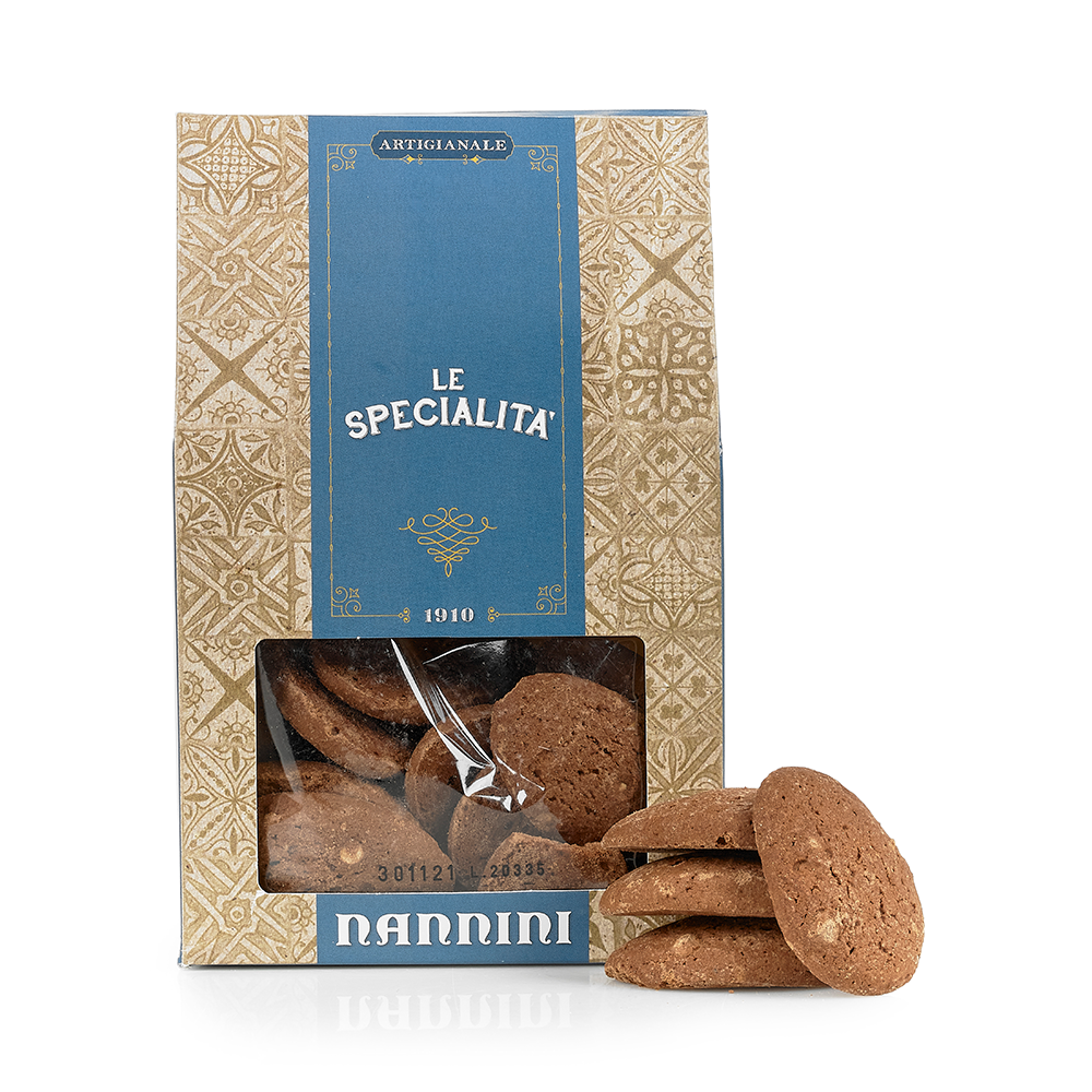 Chocolate Biscuits with White Chocolate Chips 300g by Nannini