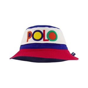 Ralph Lauren Navy Multi Bucket Hat S (2-4 år)