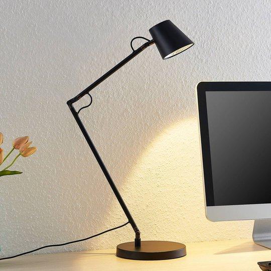 Lucande Tarris LED-bordlampe, svart