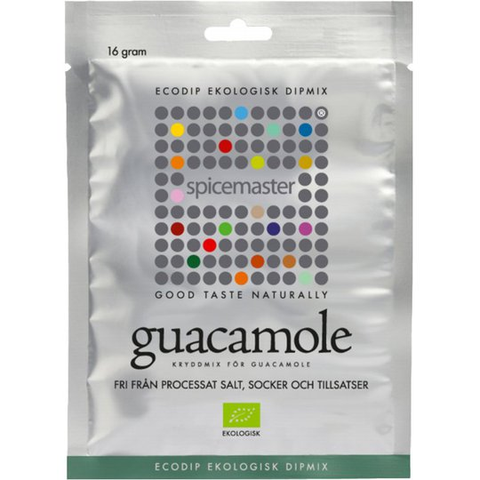"Kryddmix ""Guacamole"" 16g - 33% rabatt"