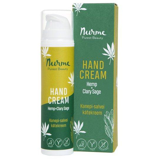 Nurme Hand Cream Hemp + Clary Sage, 50 ml