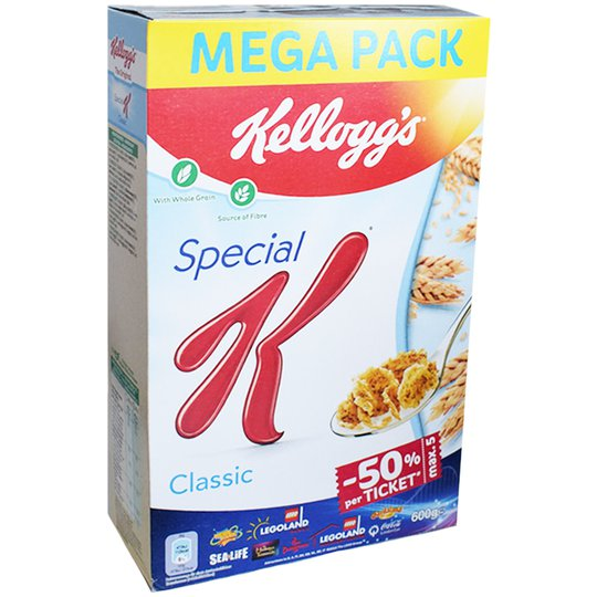 "Frukostflingor ""Classic"" 600g - 37% rabatt"