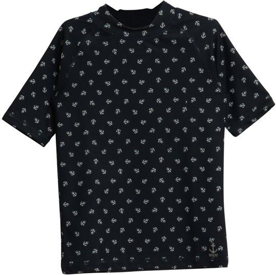 Wheat Jackie Swim T-Shirt, Navy 98