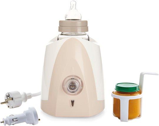 Thermobaby Babymatvarmer Hjemme/Bil, Rosa/Hvit