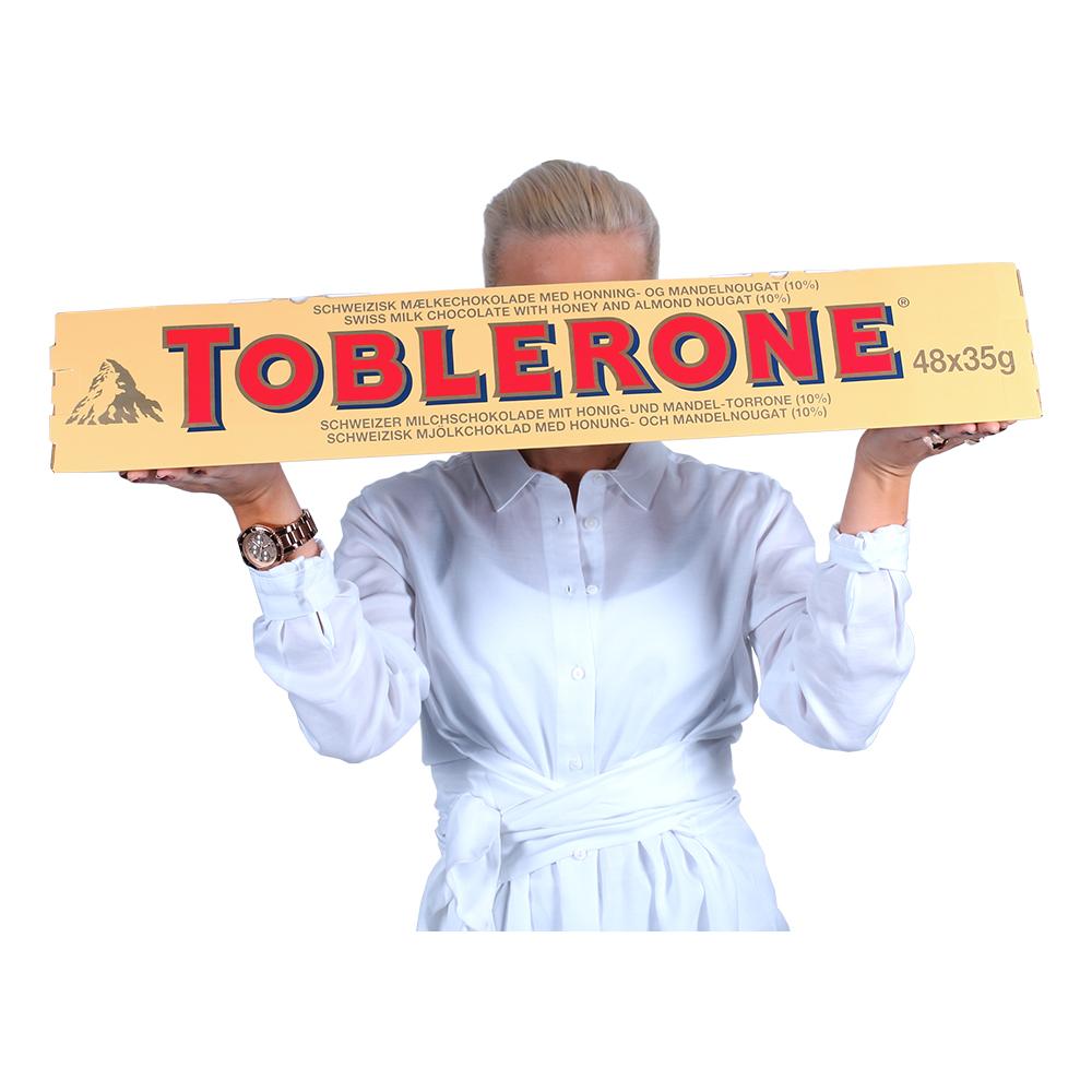 Gigantisk Choklad Toblerone