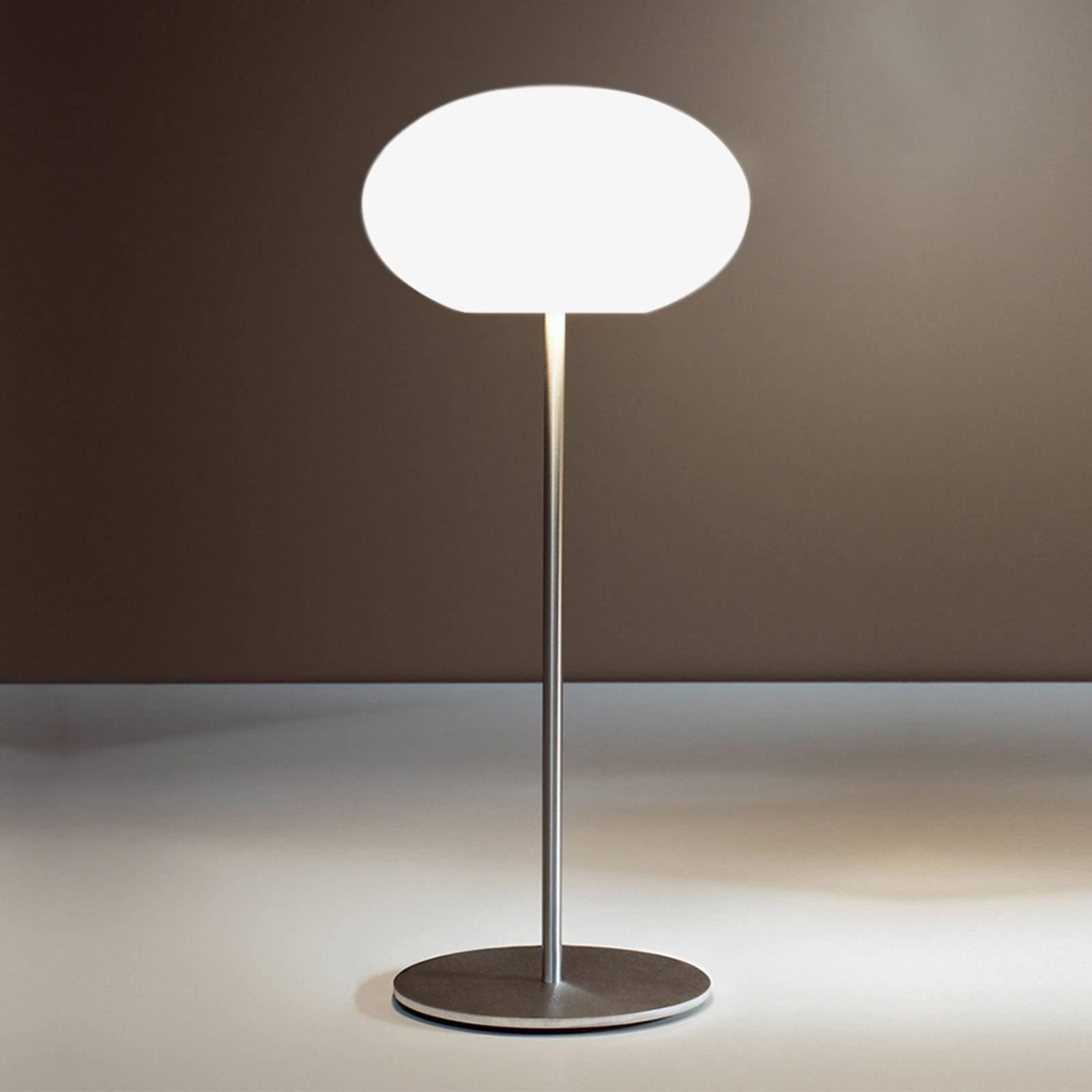 Casablanca Aih bordlampe, Ø 19 cm hvit matt