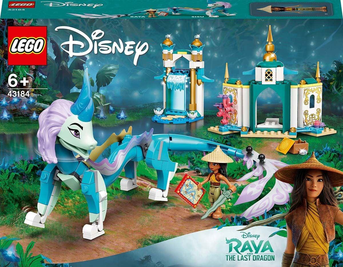 LEGO Disney 43184 Raya ja Lohikäärme Sisu