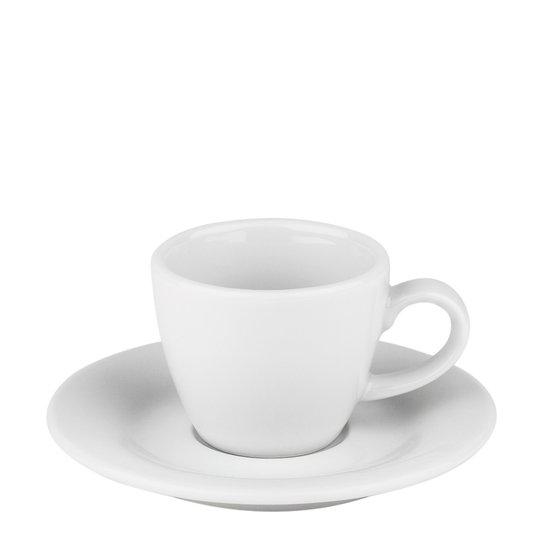 Table Top Stories - Blues Espressokopp med fat Vit