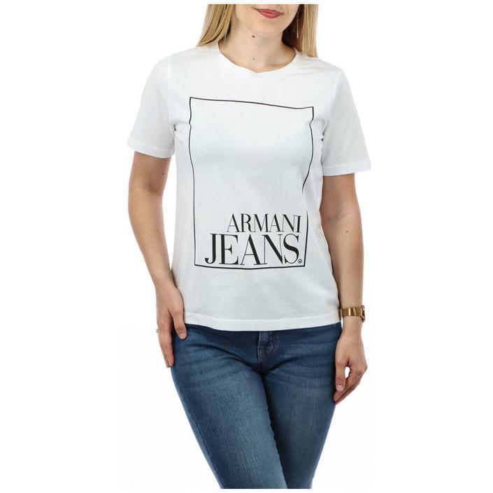 Armani Jeans Women's T-Shirt White 271663 - white XS