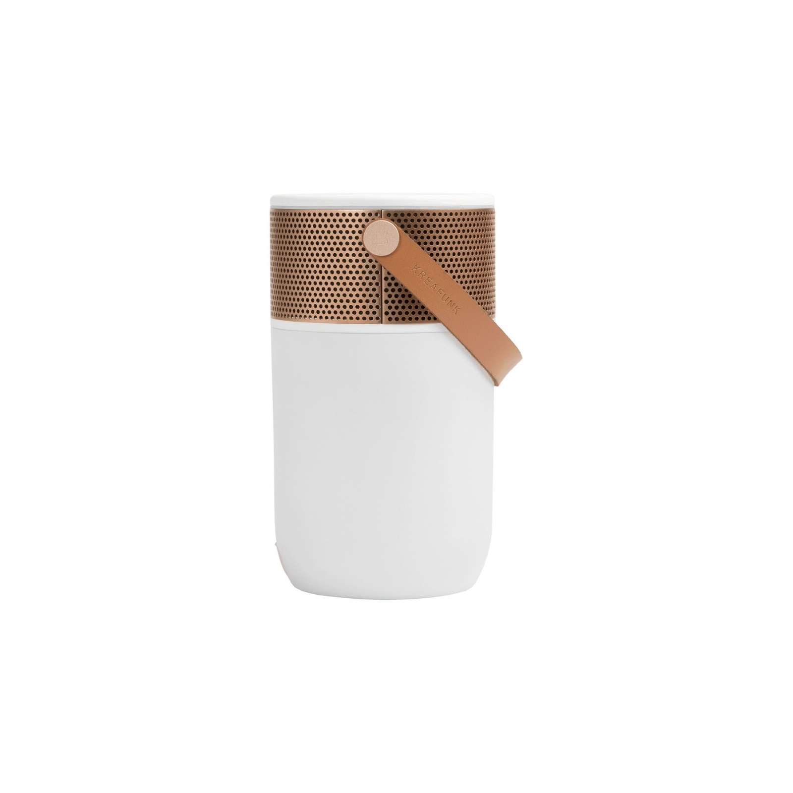 aGLOW Bluetooth högtalare/ lampa roséguld, Kreafunk