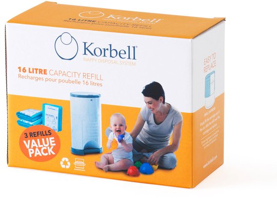Korbell Refill 3 stk.
