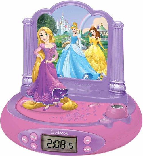 Disney Princess Projektorklokke Med Lyd Rapunzel
