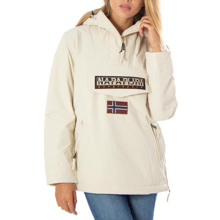 Napapijri - Napapijri Women Jacket - white XS