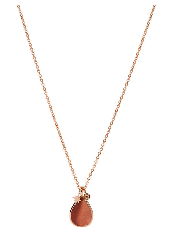 FOSSIL Halsband Val - Rosé JF03814791