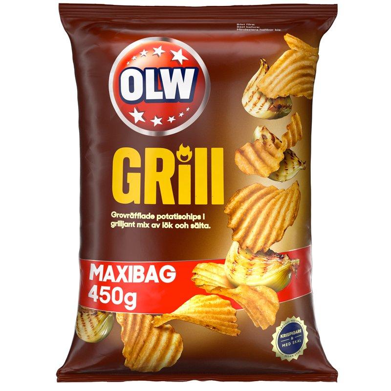 Grillchips Maxibag - 36% rabatt