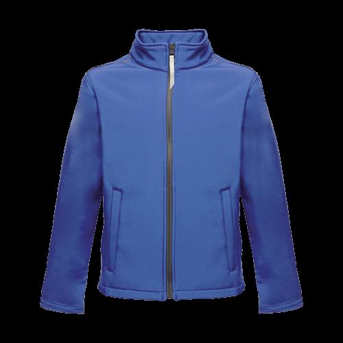 Regatta Kid's Classmate Softshell Jacket Various Colours T_TRA683 - Royal Blue 5/6 Years