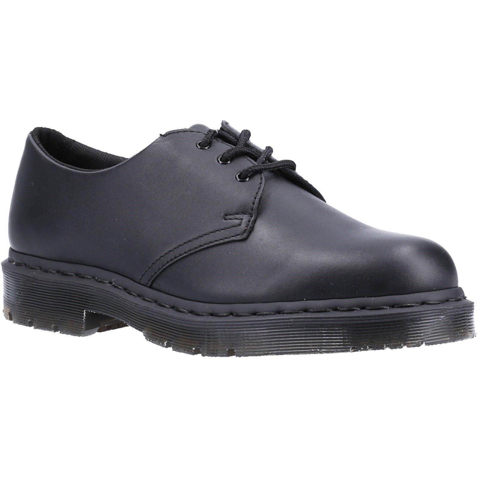 Dr Martens Unisex Mono Slip Resistant Leather Shoes Black 34029 - Black 3