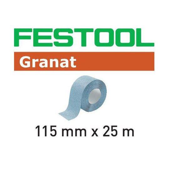 Festool GR Hiomapaperirulla 115x25m P150