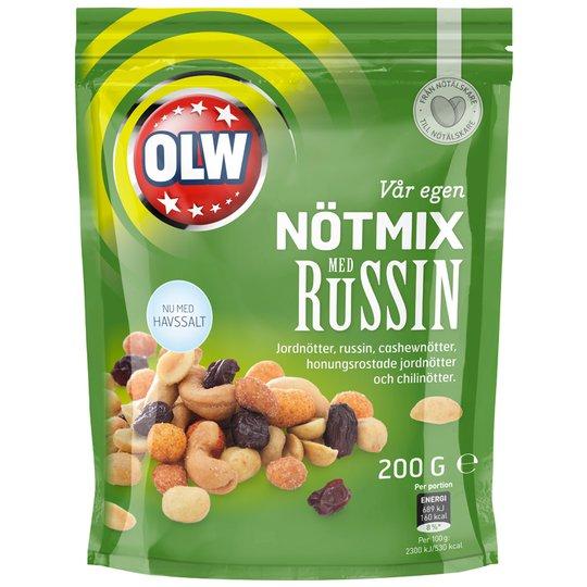 Pähkinäsekoitus Rusina 200 g - 67% alennus